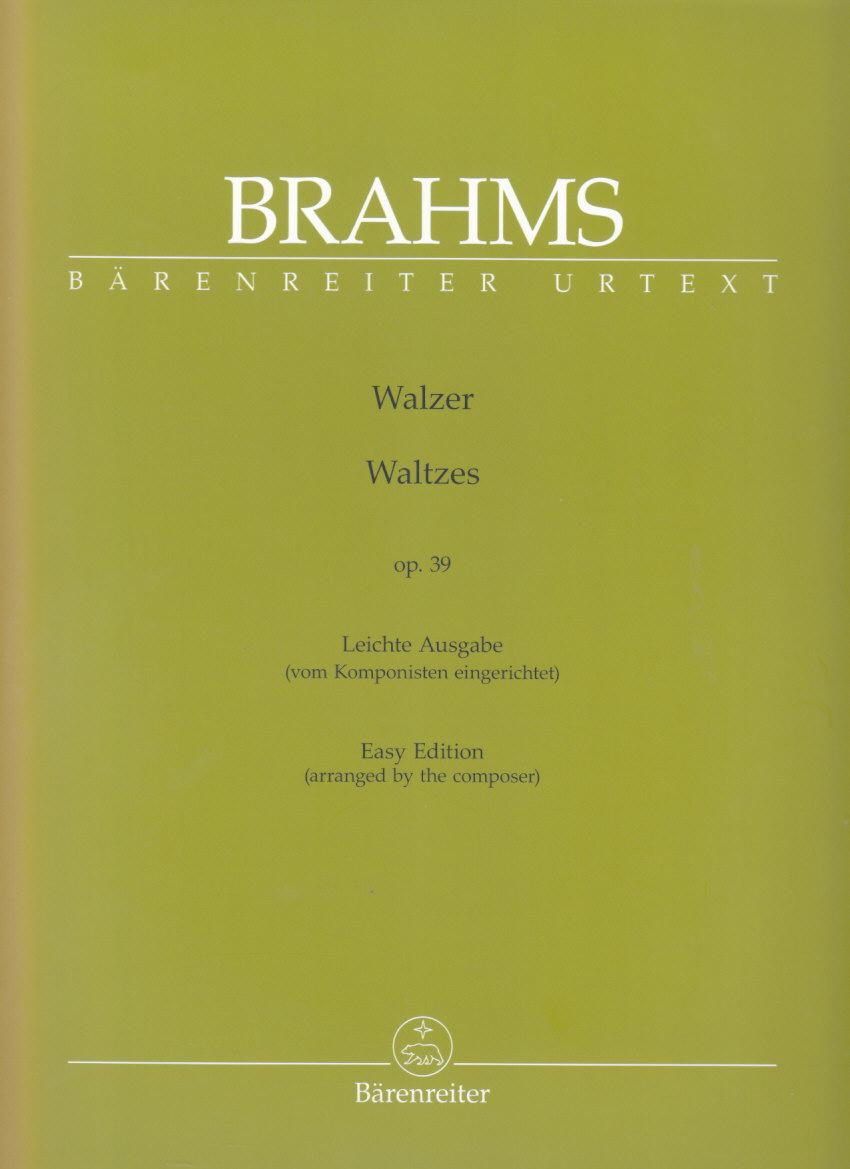 piano BRAHMS two rapsodies Op 79 Schirmer