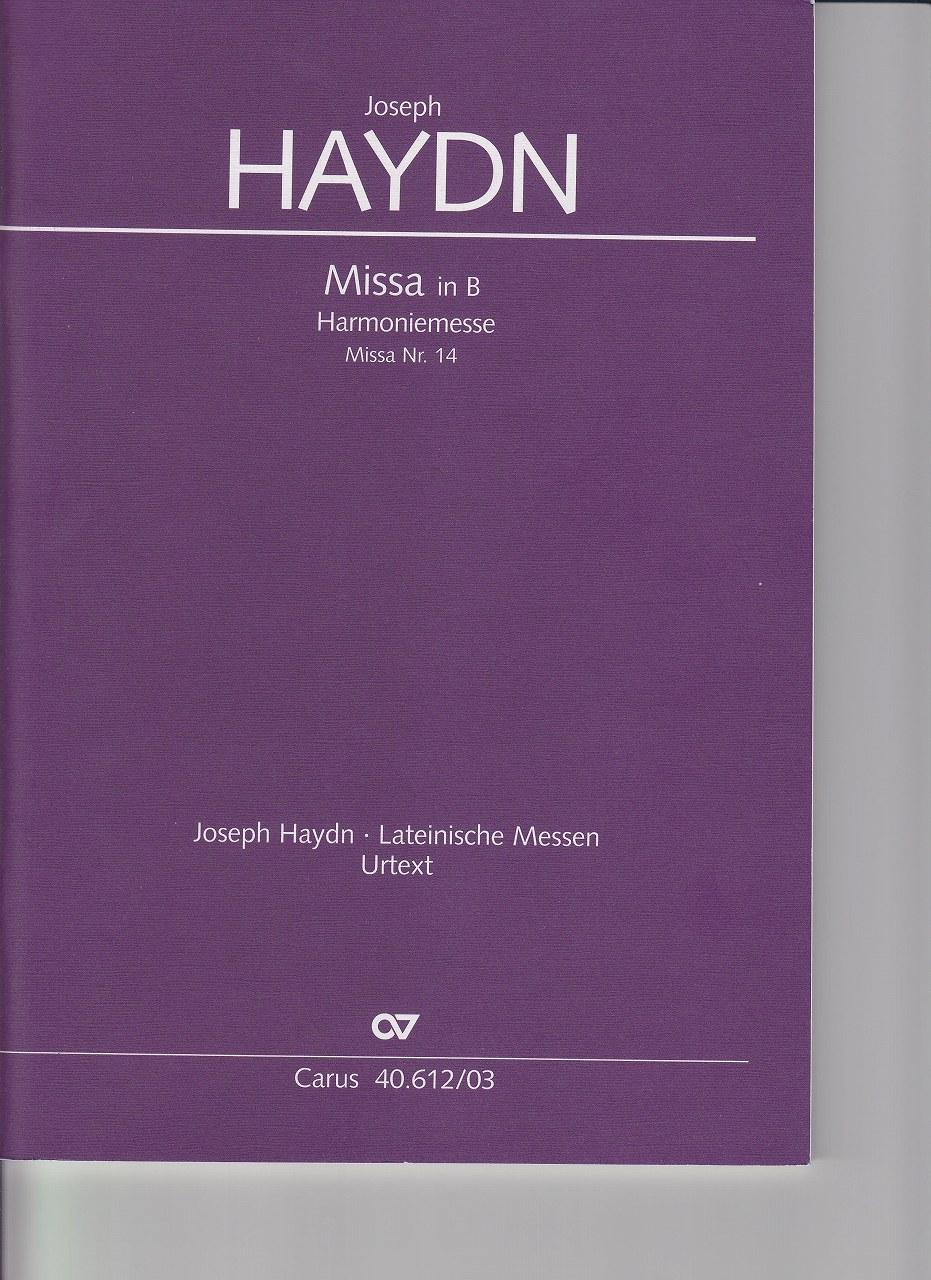 Die dre-i und vierstimmigen Gesänge Haydn J
