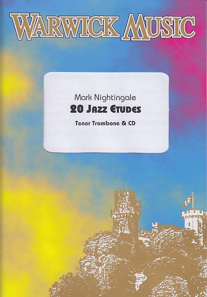 Nightingale 20 Jazz Etudes Bass Clef Tenor Tbn Musical Instruments & Gear Brass cd
