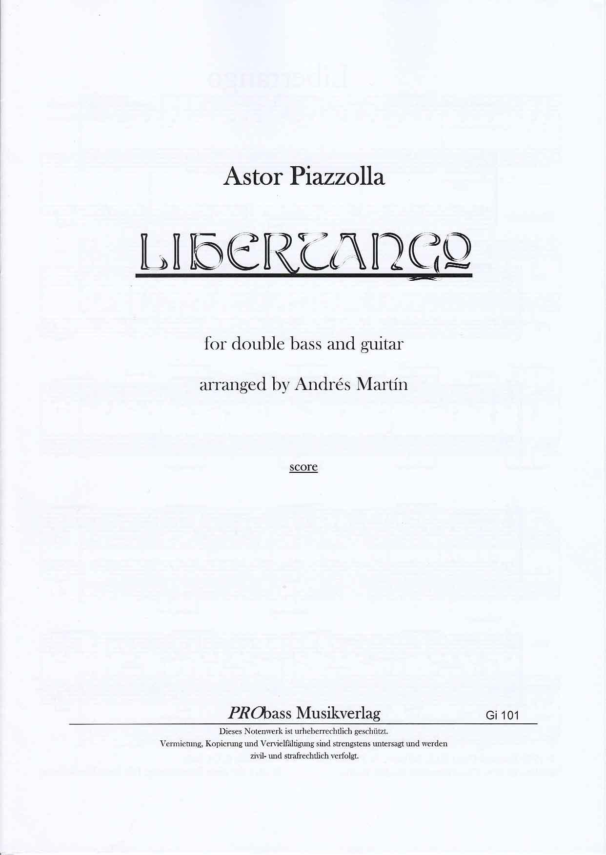 アカデミアミュージック / Libertango